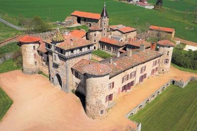 Visite Guidée Du Château De Saconay à Pomeys