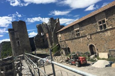 Visite Guidée Du Château De Tallard Et De Ses Travaux De Restauration