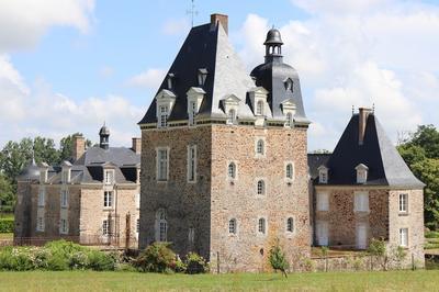 Visite Guidée Du Château Des Arcis (extérieurs) Et Des Dépendances à Meslay du Maine