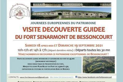 Visite Guidée Du Fort Sénarmont De Bessoncourt
