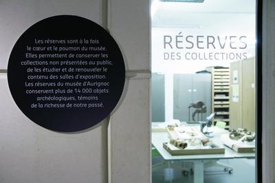 Visite Guidée Du Musée Aux Réserves à Aurignac