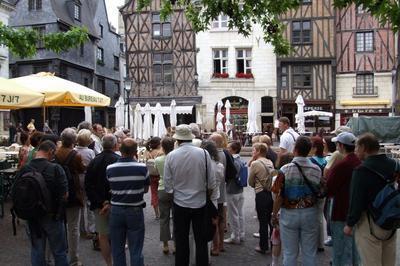 Visite Guidée Du Quartier Du Vieux-tours à Tours