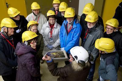 Visite Guidée Du Réacteur Nucléaire En Déconstruction Superphénix. à Creys Mepieu