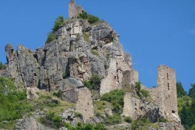 Visite Guidée Du Site Du Château De Rochebonne à Saint Martin de Valamas