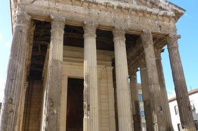 Visite Guidée Du Temple D'auguste Et De Livie à Vienne