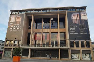 Visite Guidée Du Théâtre Des Arts à Rouen