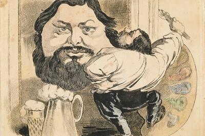 Visite Guidée Exposition Courbet Caricaturé...de La Barbe Aux Sabots à Flagey