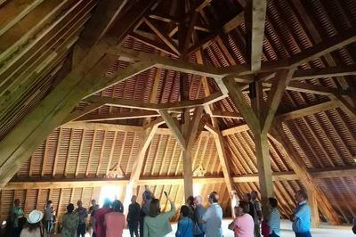 Visite Guidée : La Reconstruction D'une Charpente Médiévale à La Grande Saline à Salins les Bains