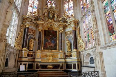 Visite Guidée: Le Retable De L'église Saint-rémy à Dieppe