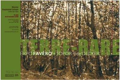 Visite Guidée Nocturne De L'exposition Favéro à Lisle sur Tarn