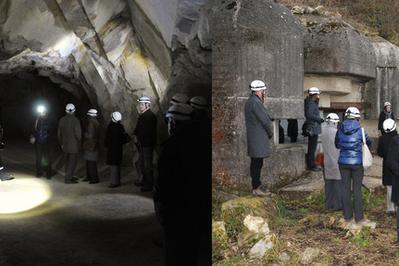 Visite Guidée Souterraine De La Batterie Du Roule à Cherbourg