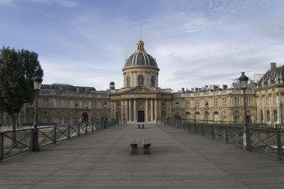 Visite Inédite Du Palais De L'institut De France à Paris 6ème