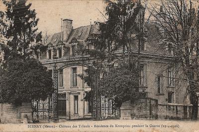 Visite Insolite D'un Château Qui A Abrité Le Quartier Général Du Kronprinz à Stenay