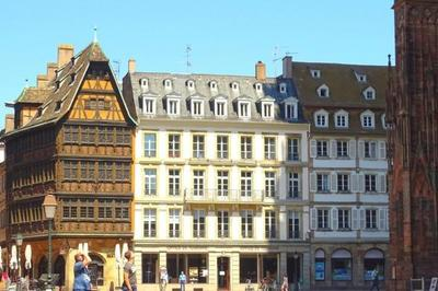 Visite « éclair » De La Place De La Cathédrale à Strasbourg