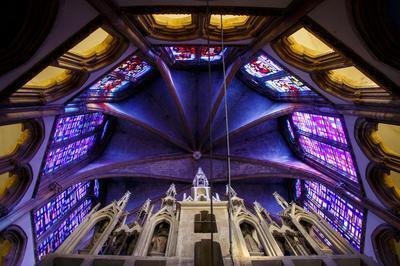 Visite Libre De Cette Grande Chapelle De Style Néo-gothique à Thionville