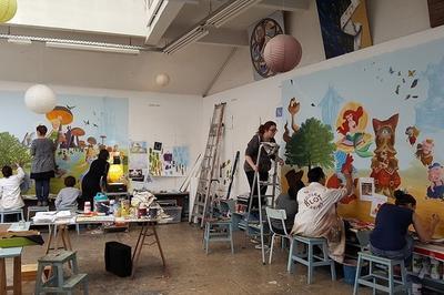 Visite Libre De L'atelier De L'ecole Blot à Reims