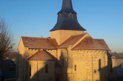 Visite Libre De L'église De Nouzerines
