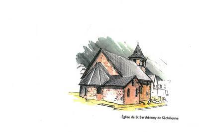 Visite Libre De L'église De Saint-barthélemy-de-séchilienne. à Laffrey