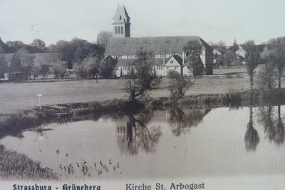 Visite Libre De L'église Saint-arbogast à Strasbourg