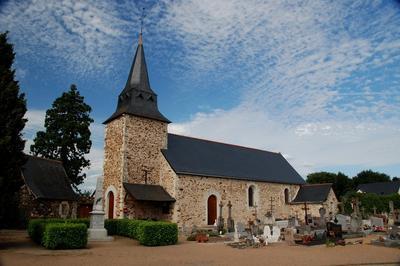 Visite Libre De L'Église Saint-jean Baptiste à Saint Jean de Linieres