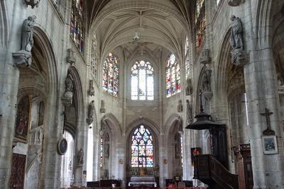 Visite Libre De L'église Saint-nicolas à Troyes