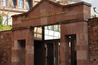 Visite Libre De L'hémicycle Du Conseil Départemental à Rodez