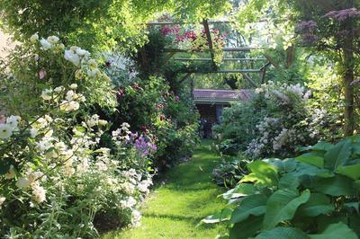 Visite Libre De Notre Jardin Consacré à La Rose. à Chateauvillain