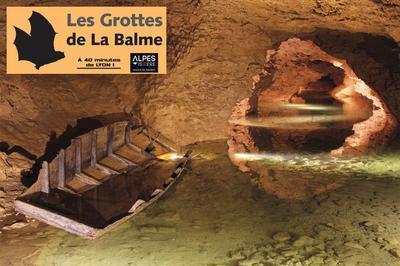 Visite Libre Des Grottes De La Balme. à La Balme les Grottes