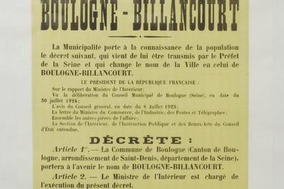Visite Libre Des Magasins D'archives à Boulogne Billancourt