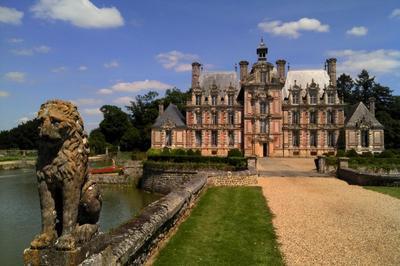 Visite Libre Du Château De Beaumesnil