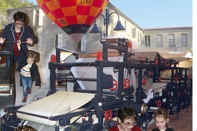 Visite Libre Du Musée Des Papeteries Canson Et Montgolfier. à Davezieux