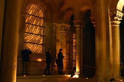 Visite Libre En Nocturne Et En Musique Des Tribunes De L'abbatiale à Conques