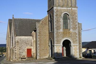 Visite Libre Journées Du Patrimoine 15 Et 16 Septembre 2018 Eglise St Martin De Connée à Saint Martin de Connee
