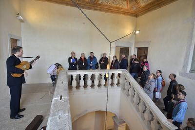 Visite Musicale De L'abbaye D'ambronay. à Ambronay
