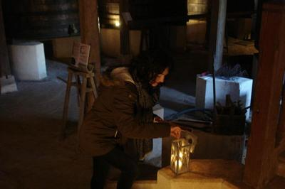 Visite Nocturne Du Chai, à La Lanterne Et Dégustation De Vins à Saint Pierre de Chignac