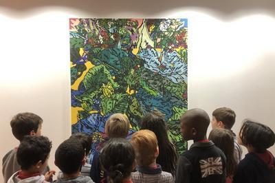 Visites Art Contemporain Jeune Public à Nanterre