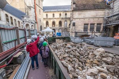Visites Du Chantier De Rénovation à Dijon