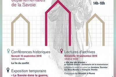 Visites Guidées Des Archives Départementales. à Chambery