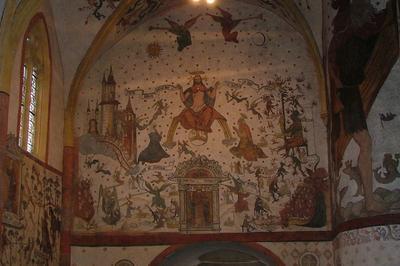 Visites Libres Et Guidées Des Peintures Murales De L'église Saint-martin à Sillegny