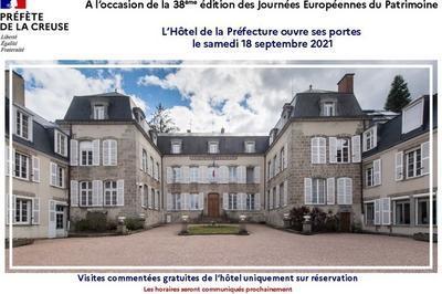 Visitez L'hôtel De La Préfecture De La Creuse à Gueret