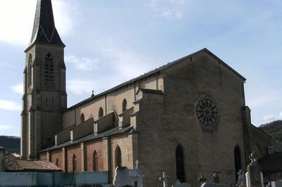Viste Libre De L'église-cathédrale Saint-sauveur à Vabres l'Abbaye