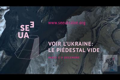 Voir l'Ukraine : Le piédestal vide à Paris 6ème