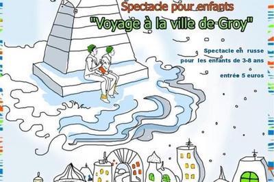 Voyage dans la ville de Groï à Nantes
