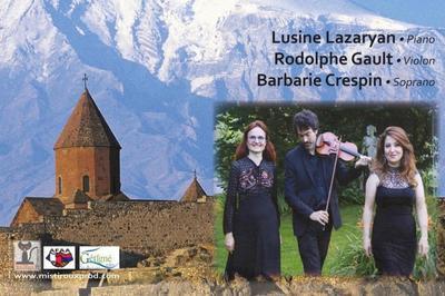 Voyage en Arménie avec le Trio Chinar à Nantes