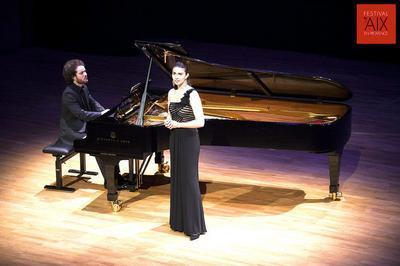 Voyage En Musique Avec La Soprano Laetitia Grimaldi-spitzer Et Le Pianiste Ammiel Bushakevitz à Le Bourget