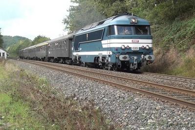 Voyage Orléans-pithiviers à Bord D'un Train Historique