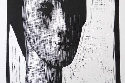 Dominique Scaglia/gravure à Amiens