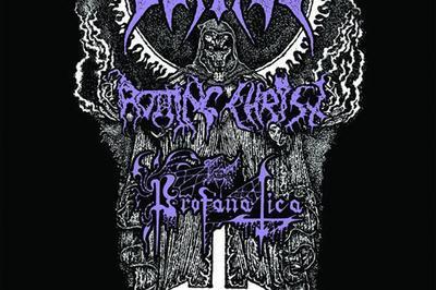 Watain,rotting Christ & Profanatica à Colmar