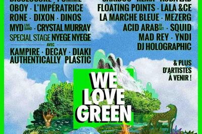 We Love Green Festival Billet Samedi à Paris à Paris 12ème
