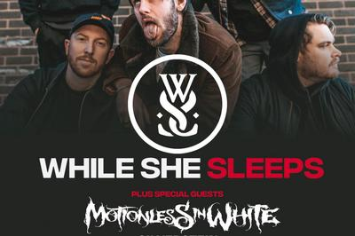 While She Sleeps, Motionless In White, Silverstein et Shvpes à Lyon